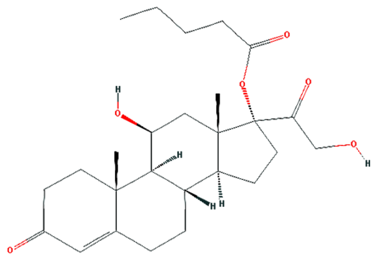 hydrocortisone-valerate-chemical-structure